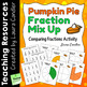 Pumpkin Pie Fraction Mix Up (Comparing Fractions)