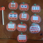 Pumpkin Poke n Peek number recognition game