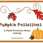 Pumpkin Possessives Plural Possessive Nouns
