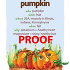 Pumpkin Poster - Available in English and Spanish!