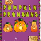 Pumpkin Pronouns in Color- Halloween Theme