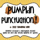 Pumpkin Punctuation &amp; Sentence Fluency