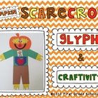 Pumpkin Scarecrow Glyph and Craftivity