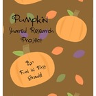 Pumpkin Shared Research Project - Common CORE Aligned