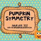 Pumpkin Symmetry Activity