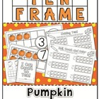 Pumpkin Ten Frames