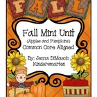 Pumpkin and Fall Mini Unit