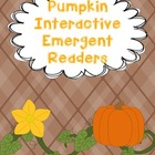Pumpkin Interactive Emergent Readers