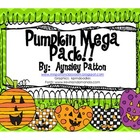 Pumpkins!!!  {Math and Literacy Activities}