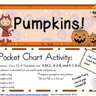 Pumpkins! Pocket Chart Poetry Activity and Printable