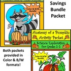 Pumpkins: Sixteen Runaway Pumpkins Activity Packet
