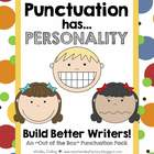 Punctuation Has Personality {The 3 Kinds of Sentences}
