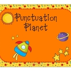 Punctuation Planet: End Marks and Commas Posters and Activities