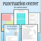 Punctuation Pocket Folder Center