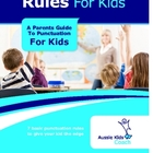 Punctuation Rules For Kids