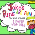 Puns and Jokes Figurative Language Activity {I Have Who Has}