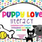 Puppy Love Common Core Literacy Centers and Printables