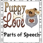 Puppy Love Parts of Speech - Valentine's Day center