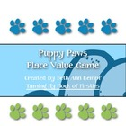 Puppy Paws Place Value Game