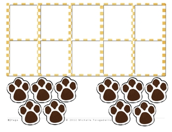 Puppy Theme: Base Ten Activity Pieces!!!