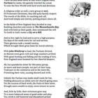 Puritans (22) - poem, worksheets and puzzle