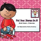 Put Your Stamp On It: Valentine's Math Centers, Games, and