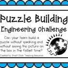 Puzzle Building: Engineering Challenge Project ~ Great STE