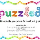 Puzzled {Easy Puzzles to Last All Year!}
