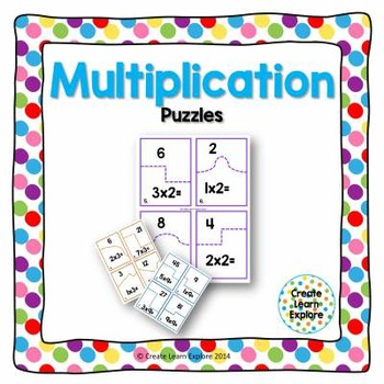 http://www.teacherspayteachers.com/Product/Puzzled-Multiplication-Puzzles-x2-x10-1117376