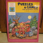 Puzzles & Games For Reading & Math Book, Ages 6-8
