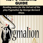Pygmalion Act III Reading Notes