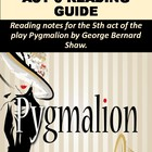 Pygmalion Act V Reading Notes