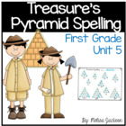Pyramid Spelling Unit 5 Macmillan/McGraw-Hill Treasures Fi