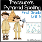 Pyramid Spelling Unit 6 Macmillan/McGraw-Hill Treasures Fi