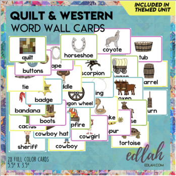 Q is for Quilts and Western-Preschool Themed Lesson Plans