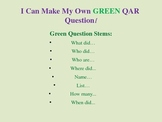 QAR I Can make my own questions, Title I, Reading comprehension