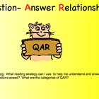 QAR - Question Answer Relationship: Reading Strategy
