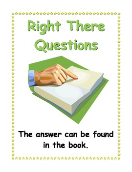 QAR posters  - Right There, Think and Search, Author and M