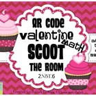 QR CODE Math Scoot the Room- 2.NBT.6 - Adding 4 Two-Digit
