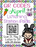 QR CODES for 24 Stories in your Listening Stations: APRIL