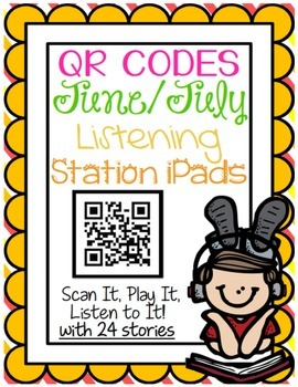 QR CODES for 24 Stories in your Listening Stations: JUNE/JULY