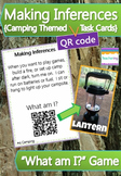 QR Code Inference Game {Camping Theme}