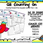 QR Code Math Center Activities: Counting On (Common Core Aligned)