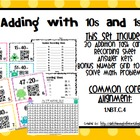QR Code Math Center: Adding Tens and Ones (Common Core Aligned)