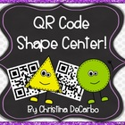 QR Code Math Task Cards: Shapes {A Freebie!}