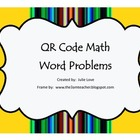 QR Code Math Word Problems-2nd Grade
