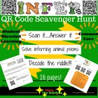 QR Code Scavenger Hunt - Inferring Practice