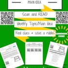 QR Code Scavenger Hunt - Main Idea