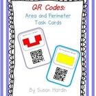 QR Code Task Cards:  Area and Perimeter
