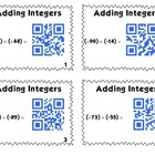 QR Code Task Cards: Bundle Pack - Integers